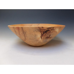 Bowl from chestnut wood,...