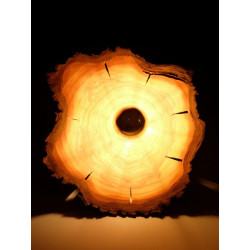 Lampshade from cherry wood,...