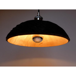 Lampshade in Paulownia Wood